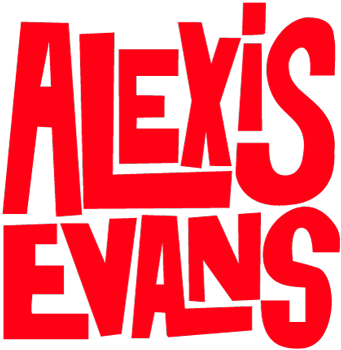 Logo Alexis Evans fresh Rhythm'n'blues Home
